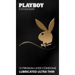 Playboy Bronce ultrafinos 12 unidades